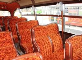 Vintage 1940s bus for weddings in Hereford